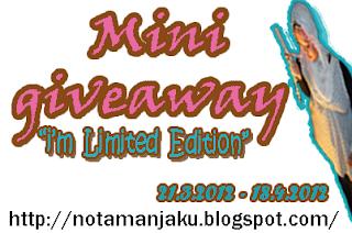 jom join mini giveaway. boleh pilih hadiah. tak percaya jom terjah