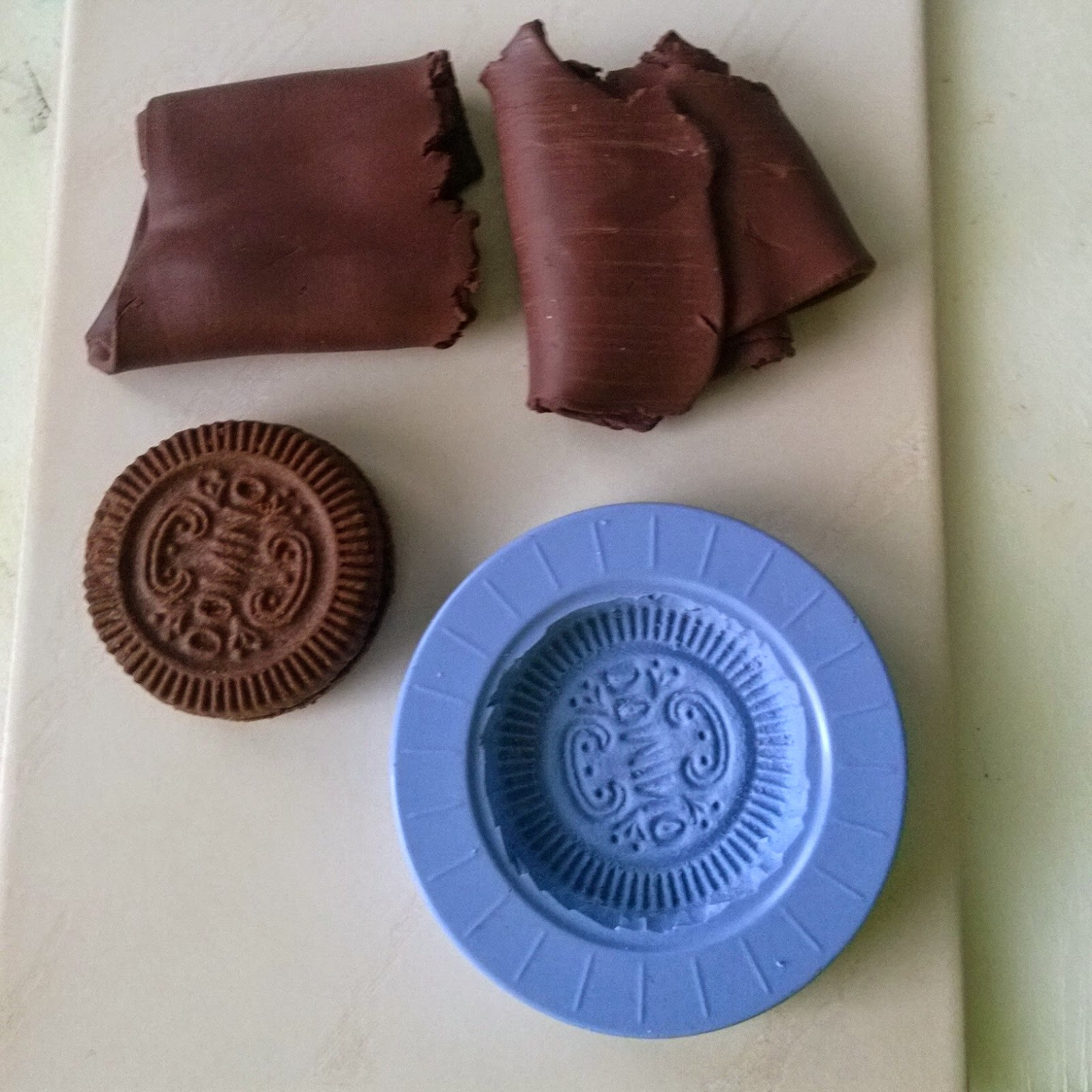 Silicon rubber mold