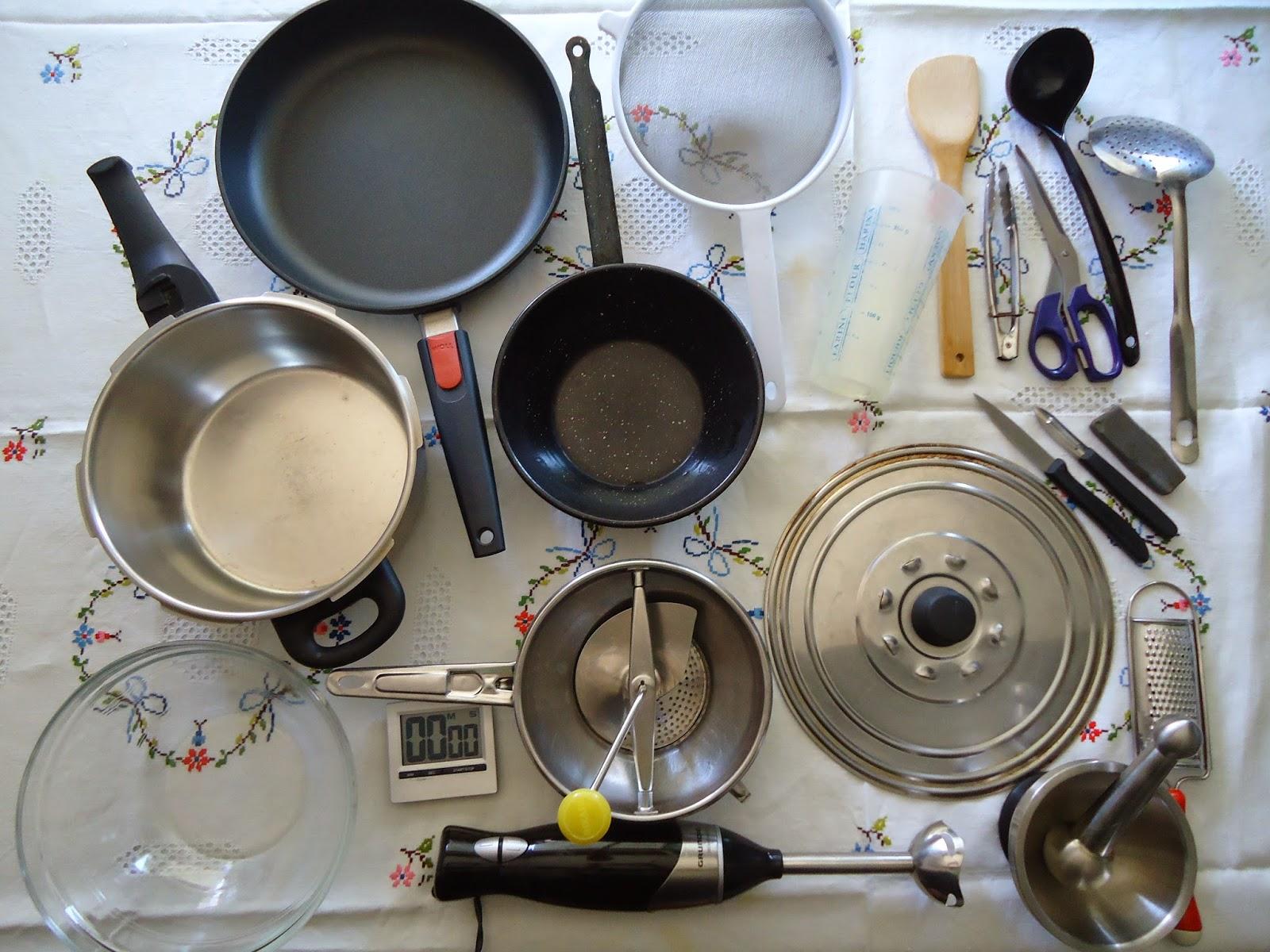 Vegano y delicioso utensilios de cocina for Utensilios de menaje