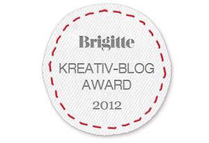 Caros Zuckerzauber beim Blog Brigitte Kreativ-Blog Award