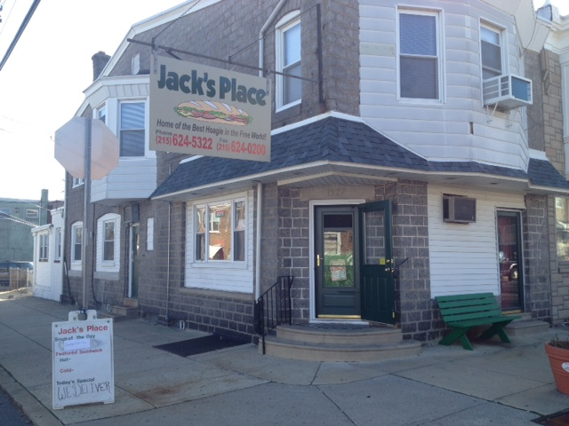 Philly Phoodie: Jack's Place