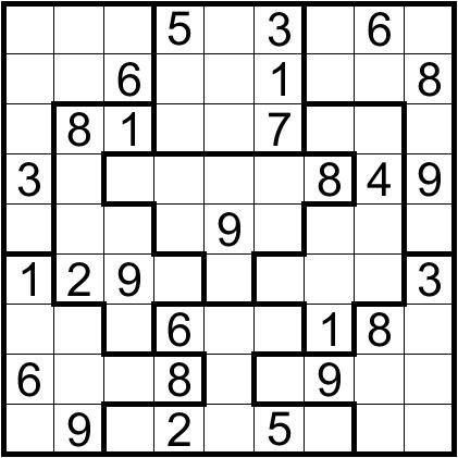 Irregular N5 | Sudoku Mania