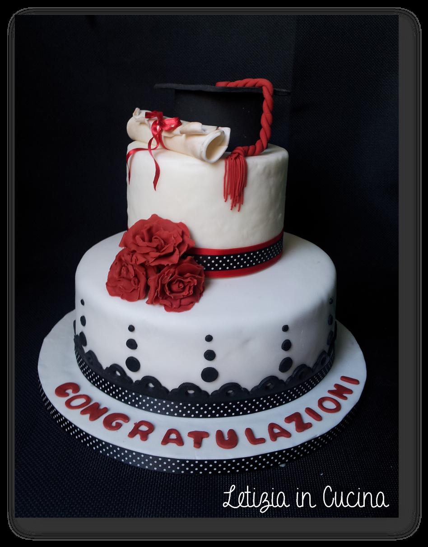 Letizia in cucina torta laurea 1 for Design a 2 piani