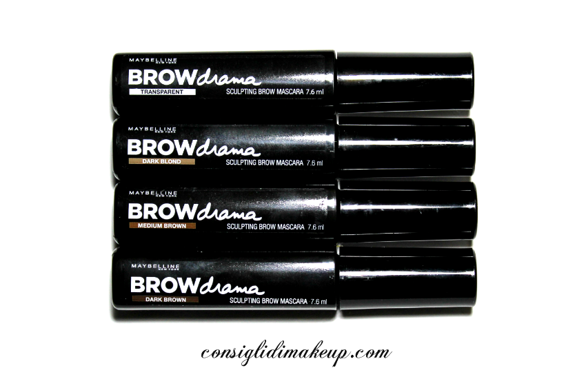 Review: Mascara per Sopracciglia Brow Drama - Maybelline
