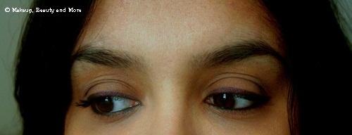 Bobbi Brown Long-Wear Gel Eyeliner in Violet Ink EOTD