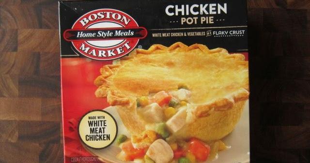 Frozen Friday: Boston Market - Chicken Pot Pie | Brand Eating
