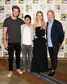 Hunger games comic con 2015