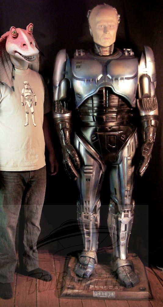 Robocop life size Bruce Hansing