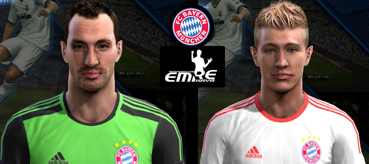 PES 2013 Starke & Weiser Faces by Emre Kaya