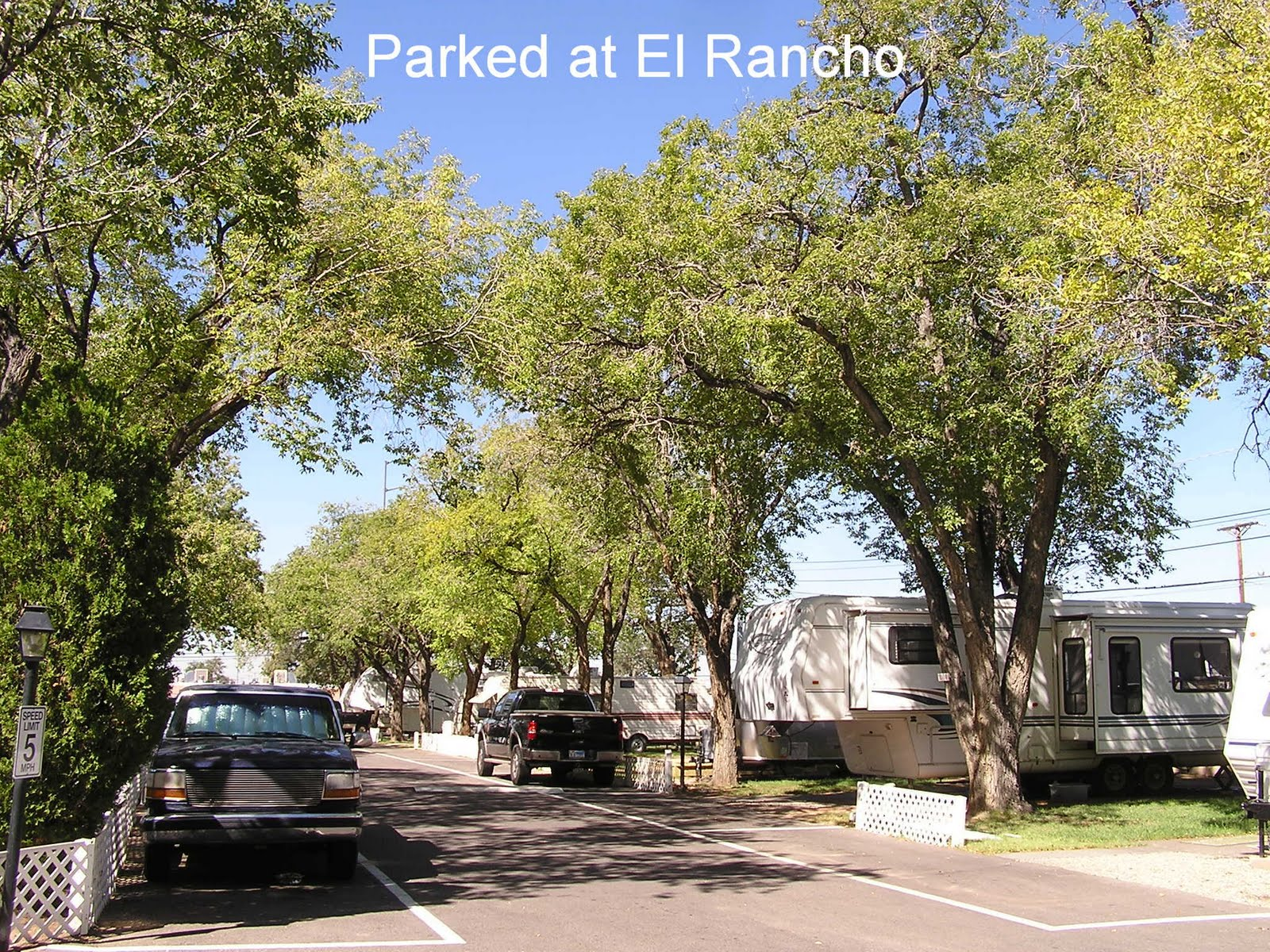 El Rancho Mobile Home Park Albuquerque NM 9 28 12 14