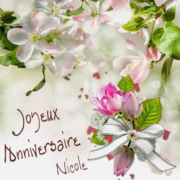 Chanson Anniversaire Nicole Gosupsneek