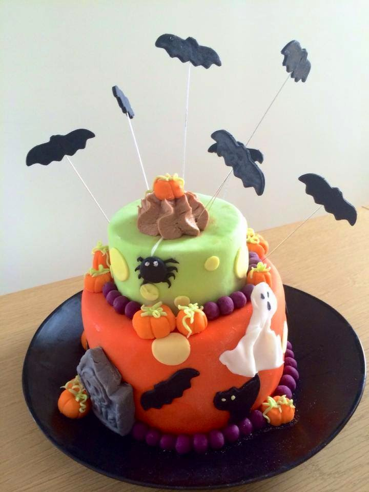 Fabtastic cakes g teau surprise halloween au nutella tutoriel - Tuto deco halloween ...