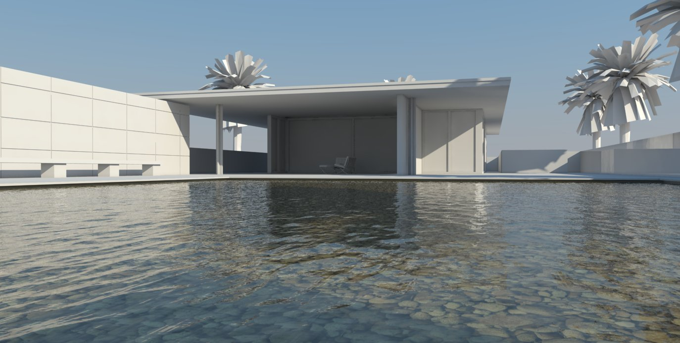 Water Building Material : Nomeradona tutorial how to create pool water in vray