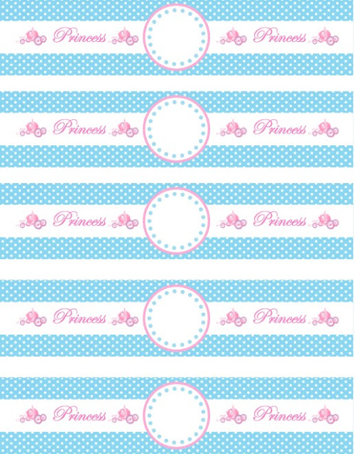 The sweatman family princess cinderella water bottle for Free printable water bottle label template