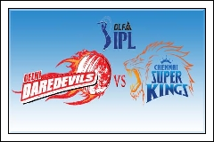 (12th-May-12) IPL-5 - Chennai Super Kings vs Delhi Daredevils (57th Match Highlights)