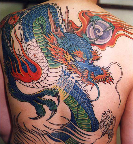 Asian Dragon Tattoos The Dragon Tattoo
