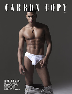 >Hot Shoot | Rob Evans en couv' de Carbon Copy