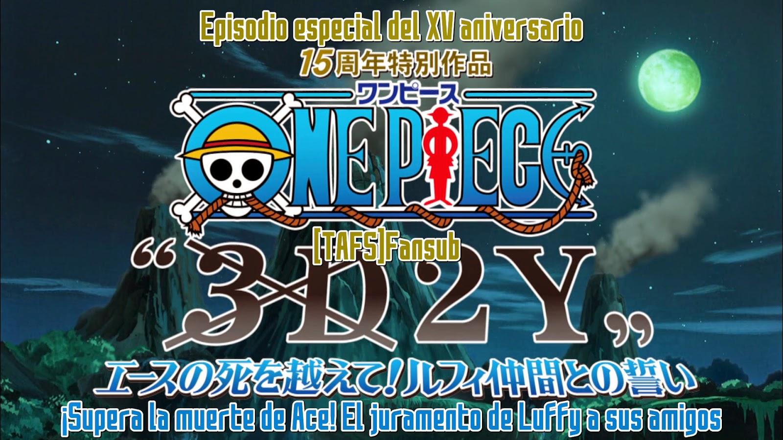One Piece - Episodio especial - 3D2Y - [TAFS Fansub][720p][1411D07E ...