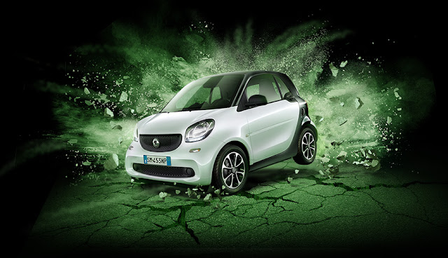 Smart fortwo Black Passion offerta