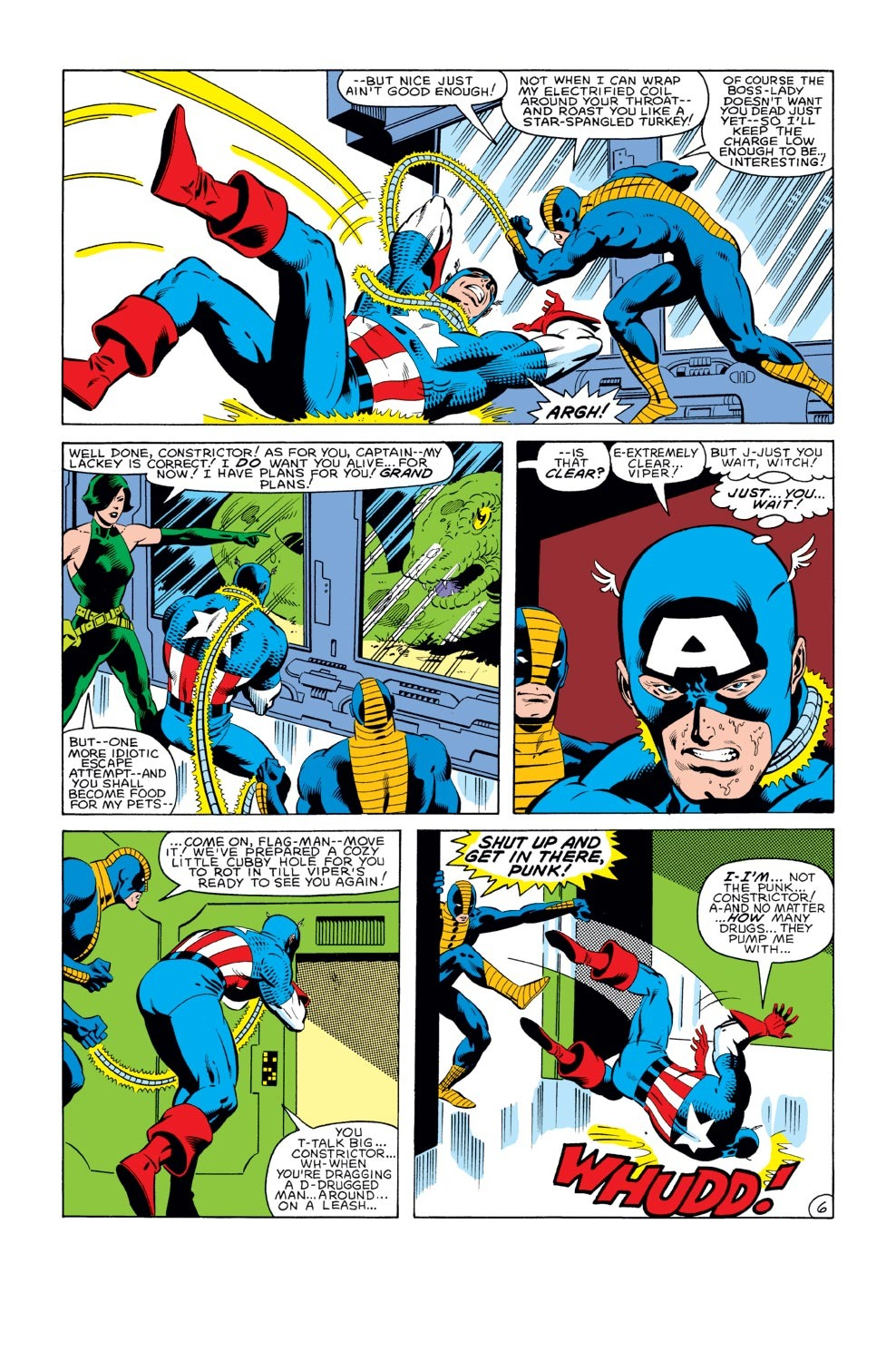 Captain America (1968) Issue #282 #198 - English 7