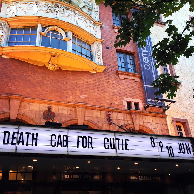 death cab london