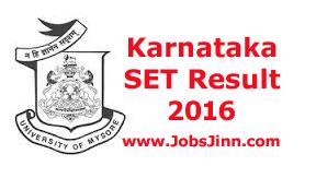 KSET Result 2016