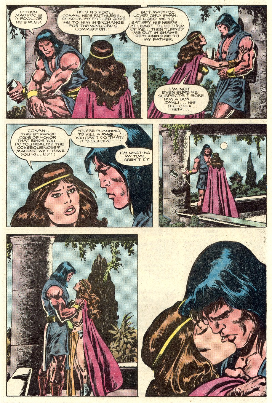 Conan the Barbarian (1970) Issue #184 #196 - English 9