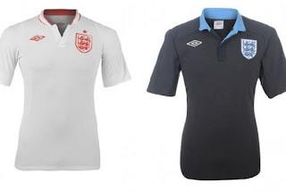 Kostum Inggris Euro 2012