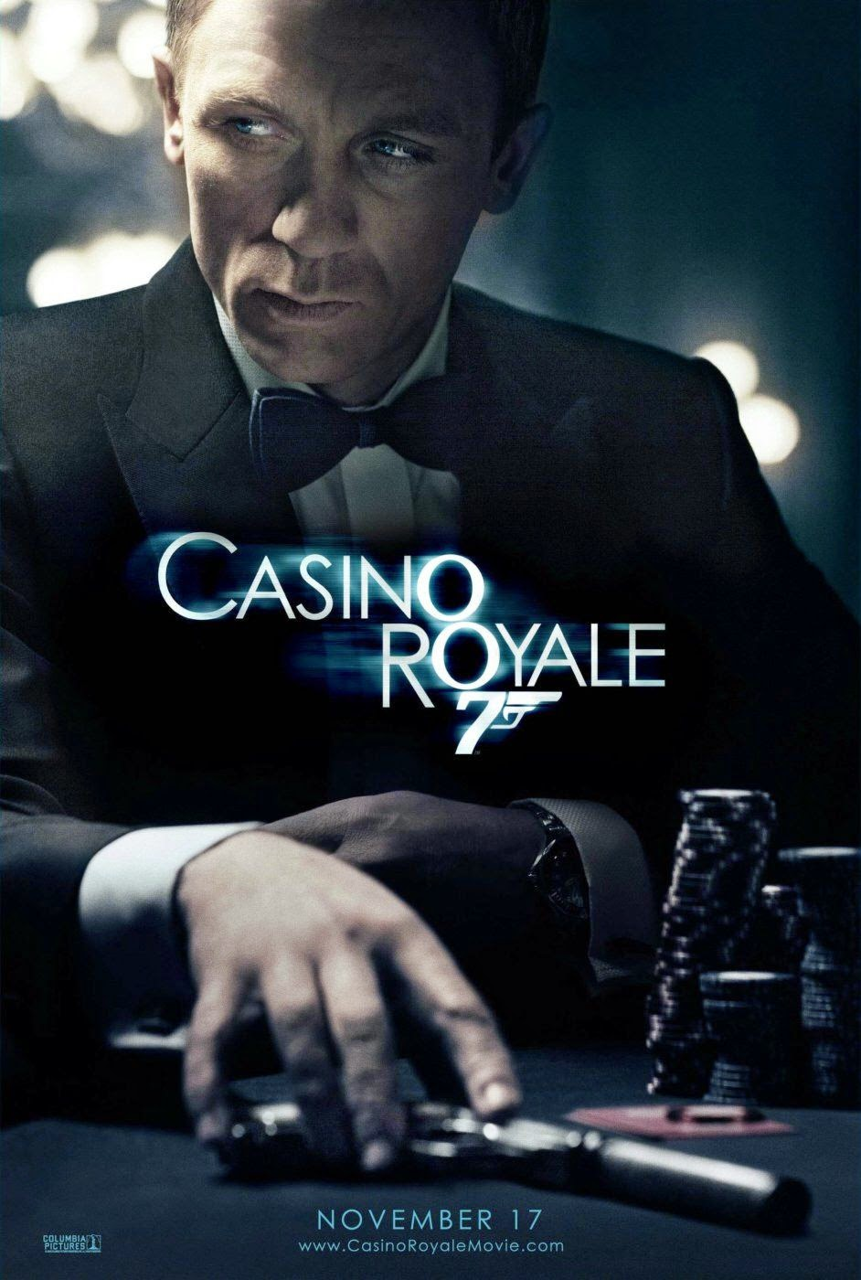 you only blog twice casino royale  thursday 12 2015
