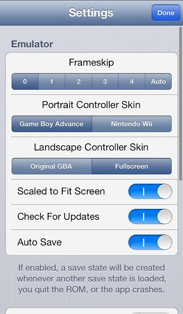 How to play games of GBA in iOS without jailbreak