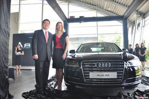 The new Audi A8 L PI with v6 engine