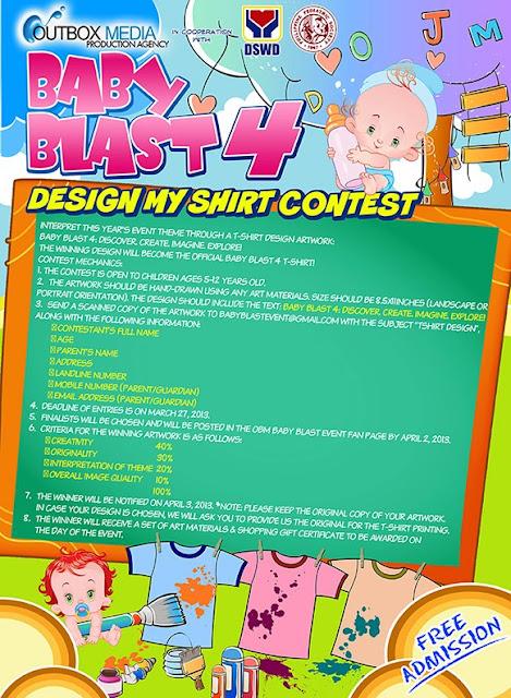 Baby Blast 4 T-Shirt Contest