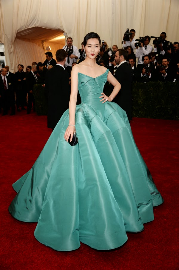 Liu Wen at the Met Gala
