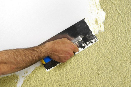 El maestro de obras xavier valderas cantidad de yeso a preparar - Como pintar paredes y techos ...