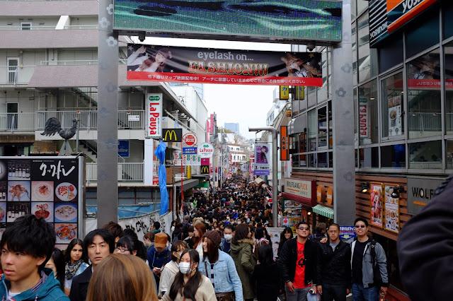 Harajuku takeshita Tokyo Japan