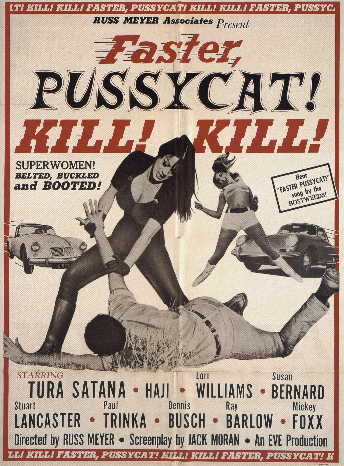 Faster, Pussycat ! Kill ! Kill ! affiche