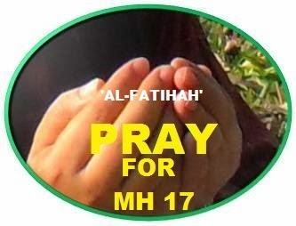 PRAY FOR MH 17
