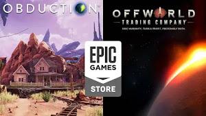 Obduction y Offworld Trading Company disponibles gratis en Epic Games Store