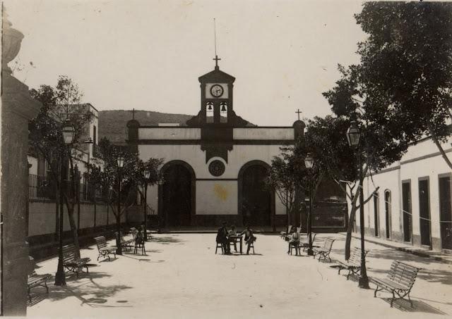 Imagen nº 3616 propiedad del archivo de fotografía histórica de la FEDAC/CABILDO DE GRAN CANARIA. Realizada en el año 1934. Fotógrafo: Sin Identificar.