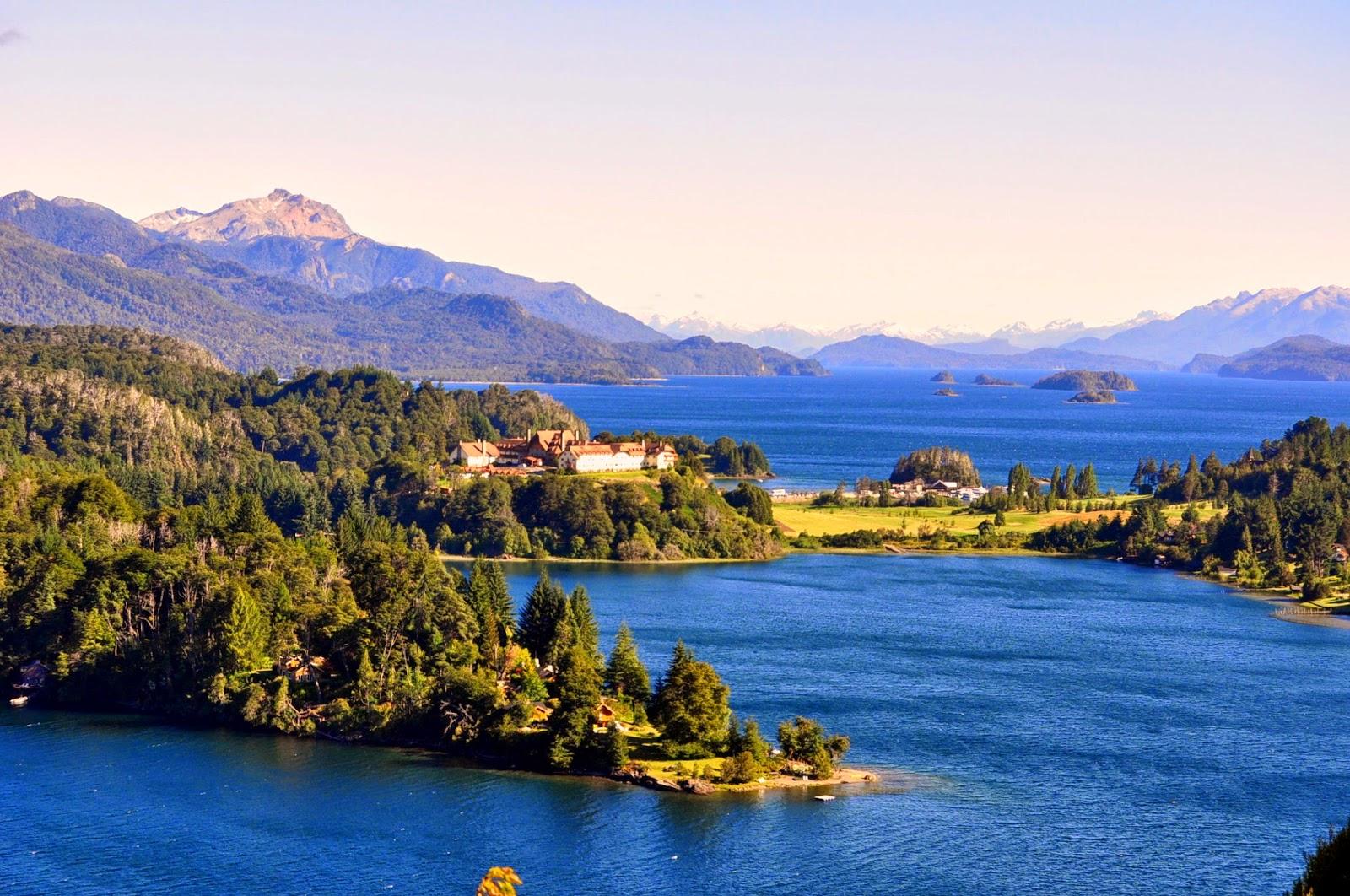 De turismo en Bariloche, Argentina