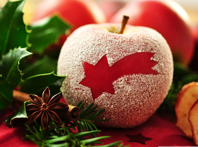 merry christmas apple wallpaper hd