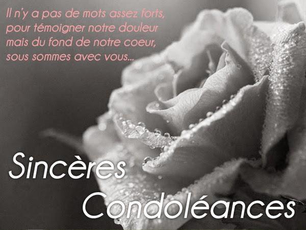 Texte De Condoléances pour des parents ~ Message de condoléances