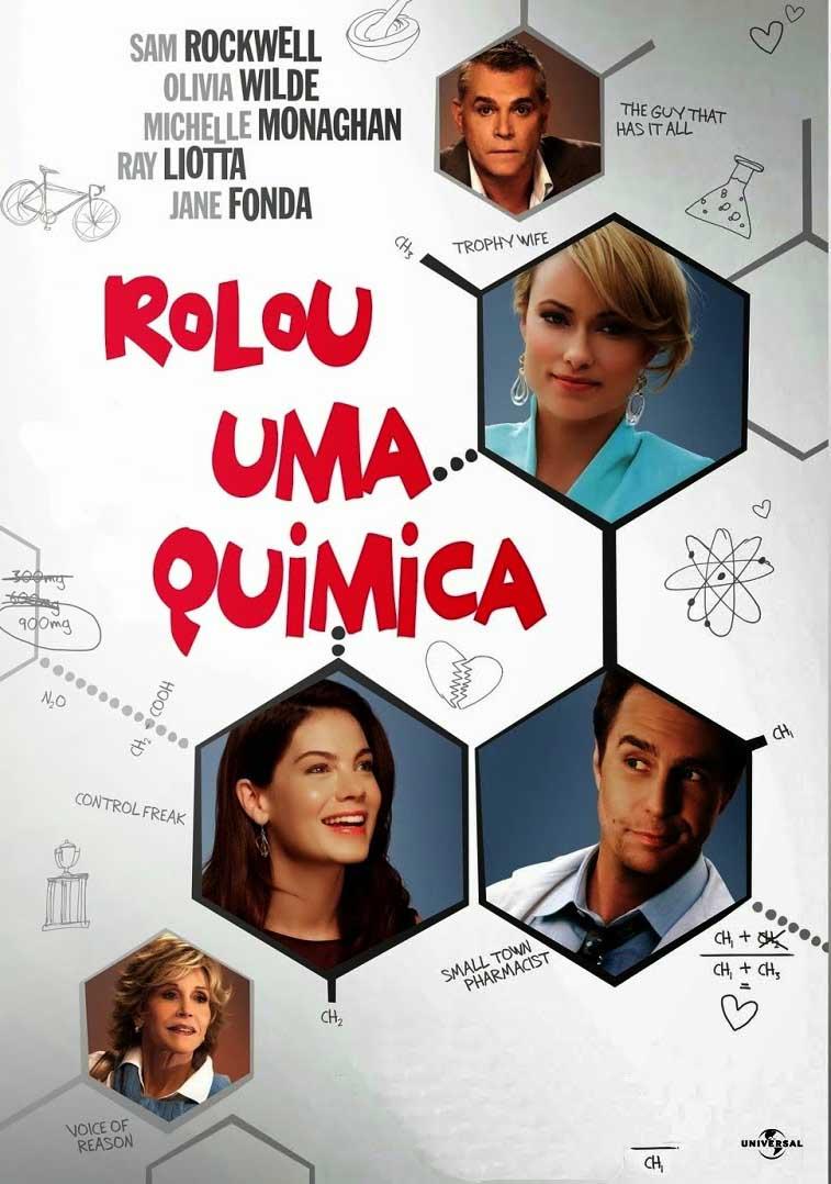 Rolou Uma Química Torrent - Blu-ray Rip 1080p Dublado (2014)