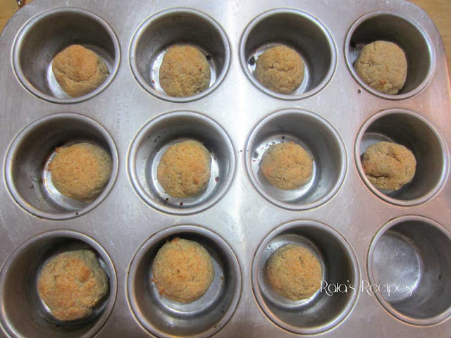 Baked Honey Hush Puppies by Raia's Recipes