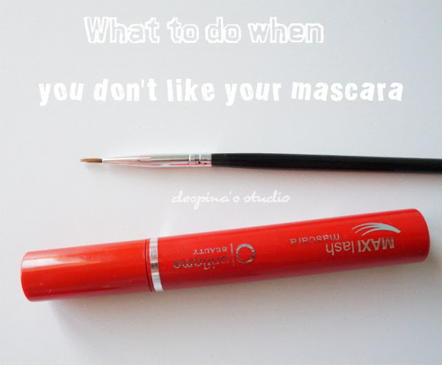 What to do when you don't like your mascara