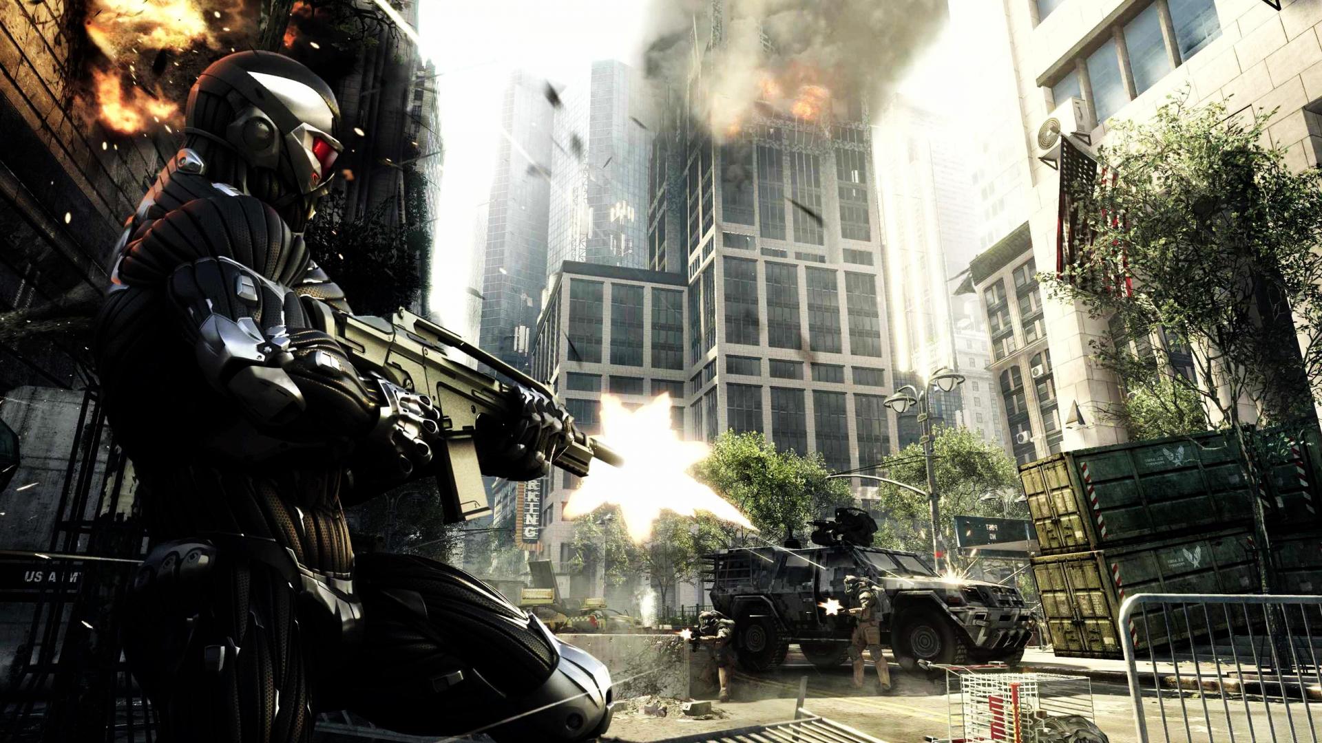 Crysis Fight Scene