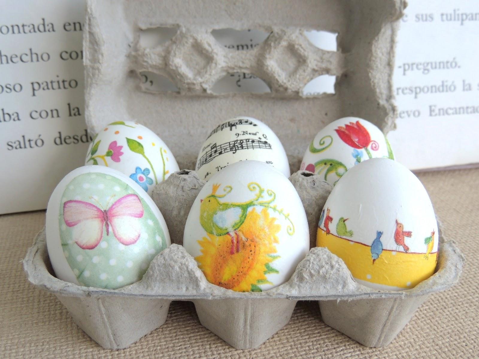 Tazas cuentos huevos de pascua y decoupage easter for Decoracion de pascua