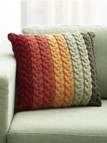 Christmas Stocking Knitted Patterns : Brasil TricO & Croche - Handmade: Ideias de almofadas de trico