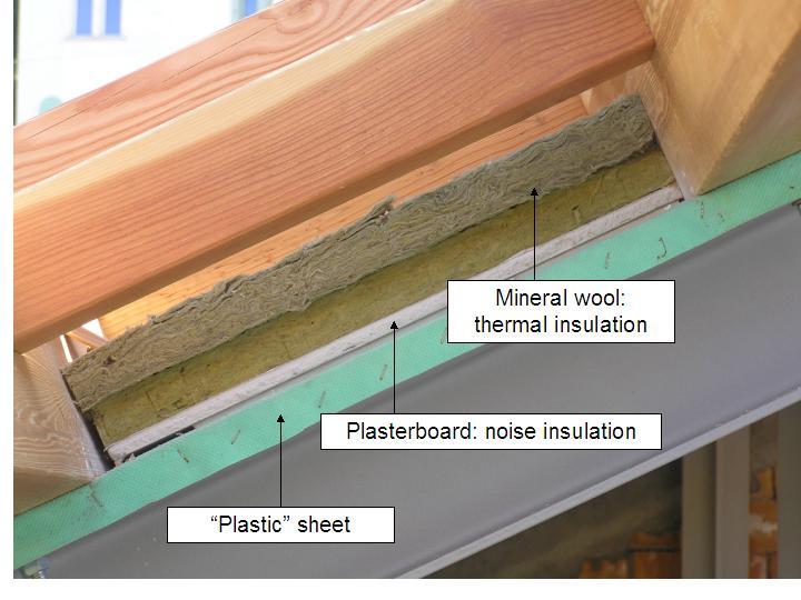 Casa immobiliare, accessori: Isolamento tetto dall interno