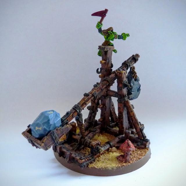 Rock Lobba for Orcs & Goblins, Warhammer Fantasy Battle
